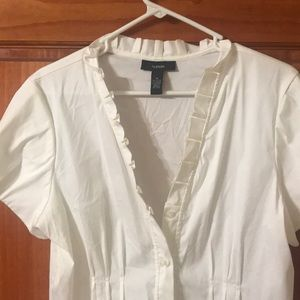 Tops - White blouse size 14